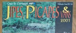 Título do anúncio: Revista Jipes, Pick Ups E Vans - 2001