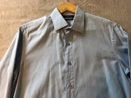 Título do anúncio: Camisa social Crawford azul clara
