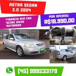 Astra Sedan 2.0 2004 Completo