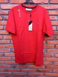 Camiseta lacoste Vermelha G