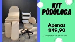 Título do anúncio: Kit Moveis Para Estética - Maca 3 Posições - Maca BiPerna - Kit Completo com Mocho