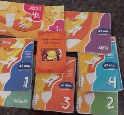 Livros escolares 4 ano