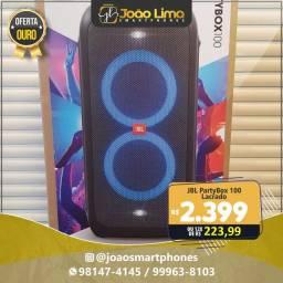 JBL PARTYBOX 100, LACRADO, GARANTIA