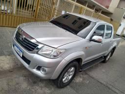 Hilux 2012 GNV automático R$72,000,00