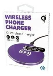 Título do anúncio: Carregador P/indução (sem Fios) Wireless - Importado Dos Usa