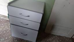 Arquivo para escritório MDF com 3 Gavetas