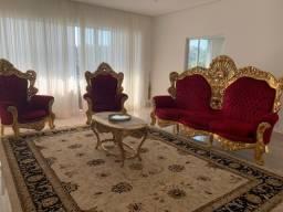 Jogo de sofá imperial