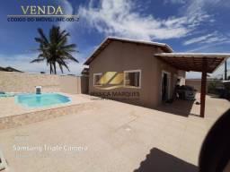 Casa de 3 quartos, área gourmet e piscina em Unamar - Cabo Frio 05-2Jmc