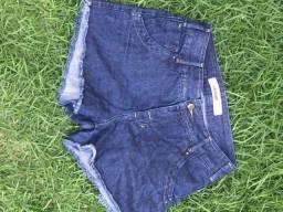 Short jeans cardigan