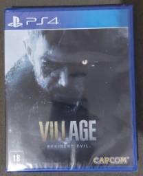 RESIDENT EVIL VILLAGE PS4 (NOVO E LACRADO)