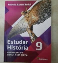 Livro de história- editora moderna (9°ano)