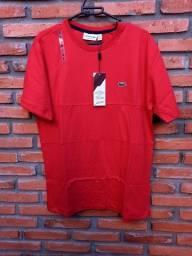 Camiseta lacoste vermelha GG