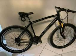 Bicicleta aro 29 seminova, estado de ZERO
