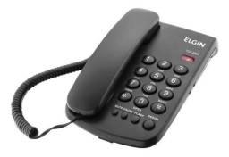 Telefone fixo Elgin TCF 2000 Preto - Loja Coimbra Computadores