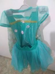 Fantasia infantil verde esmeralda