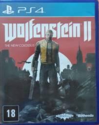 Jogo PS4 Wolfenstein II - The New Colossus / Usado