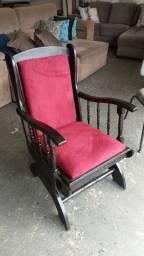 Cadeira antiga de balanco