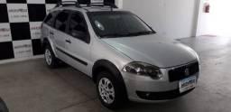 Fiat Palio WeekendTrekking 1.4 Flex/GNV m2009 - R$ 22.900,00 sinal R$ 6.990,00 + 48 x