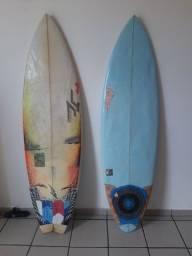 HENNEK EggStyler 6.0 29L + JC Hawaii White Fang 31L As duas por 490 reais!!!!!!!