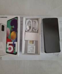 Título do anúncio: Smartphone Samsung A51 Branco 128GB EXTRA