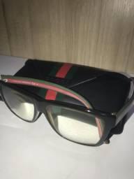 2acdb3ac74b3b Armação de óculos seminova marca GUCCI, ORIGINAL, ainda com a lente