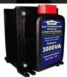 Transformador 3.000VA Split 110v Para 220V e Vice-versa