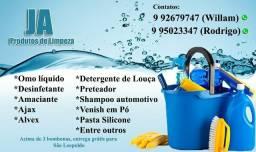 Aj produtos de limpeza