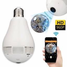 Lâmpada Espiã LED 360º WIFI