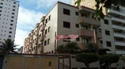 Apartamento com 1 dormitório para alugar, 50 m² por R$ 1.200/mês - Canto do Forte - Praia