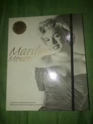 Kit Livro + dvd Marilyn Monroe Hollywood cinema filmes