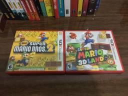 3DS - Capas de jogos - Mário, Pokémon?s, Smash Bros