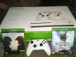 Xbox One S, 1TERA - menos de um ano de uso!!!
