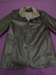 Jaqueta masculina de Couro Ecológico