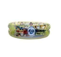 Piscina Inflável 70L Redonda Avengers Frozen Etitoys<br>