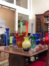 Vasos Antigos Bem Conservados Murano, Cristais