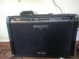 Amplificador Behringer V-Tone GMX2x12 100w Passo no Cartão