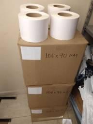 Etiquetas para impressora térmica 104x90mm