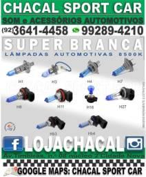Título do anúncio: Lampada para luz farol/farol de milha Super Branca H1/H3/H4/H7/H8/H11/H16/H27/HB3/HB4