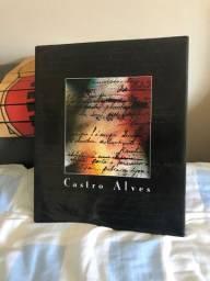 Livro capa dura Castro Alves