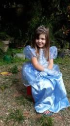 Fantasia de princesa Cinderela