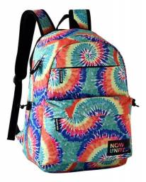 Mochila Now United (Tie Dye) colorida