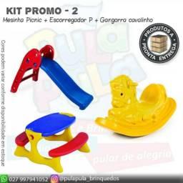 Gangorras + Escorregadores - KITS promocionais