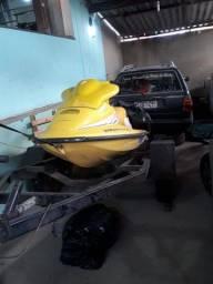 Vendo Jet Ski 98 com Carretinha