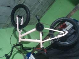 Título do anúncio: Bicicleta aro 16 semi-nova