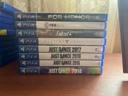 Jogos PS4 apenas troca