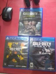 Call of Duty (COd) PS4, Ghost, WW2 e Black Ops 4