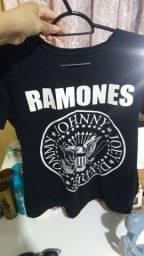Camiseta Unissex Ramones Tam: 12