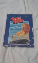 Rei Leão album antigo de figurinhas completo