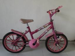 Título do anúncio: Bicicleta Infantil rosa