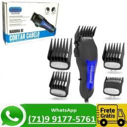 Máquina De Cortar Cabelo / Barba Profissional Knup QR-086A (NOVO)